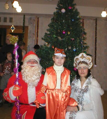 Дед мороз новый год в детском саду и